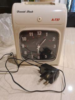 David Link A737 Electronic Time Recorder