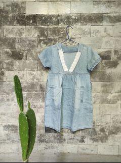 Dress hamil/pregnant jeans denim