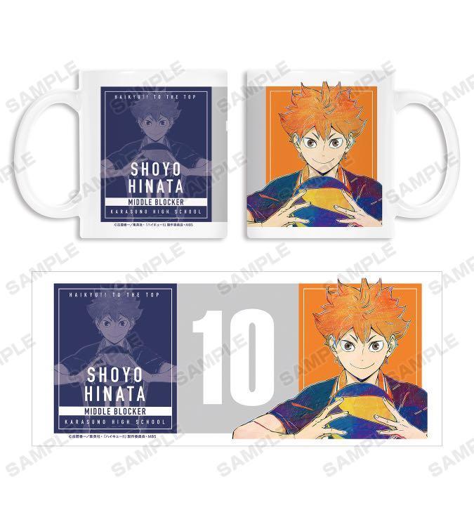 Haikyu !! to the top ani art vol.4 mug