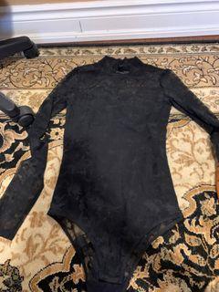 H&M lace body suit (size S)