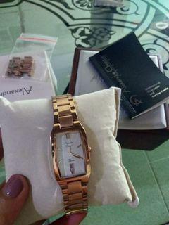 Jam Tangan Alexandre Christie (LIKE NEW) sudah murah tidak menerima nego