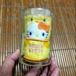 賠售/出清~kitty 小雞小方巾【原價$400】~現貨1條