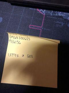 letter heny