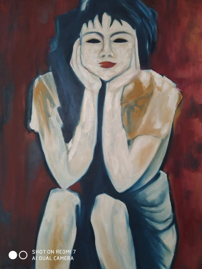 Lukisan Maestro karya Jeihan Sukmantoro