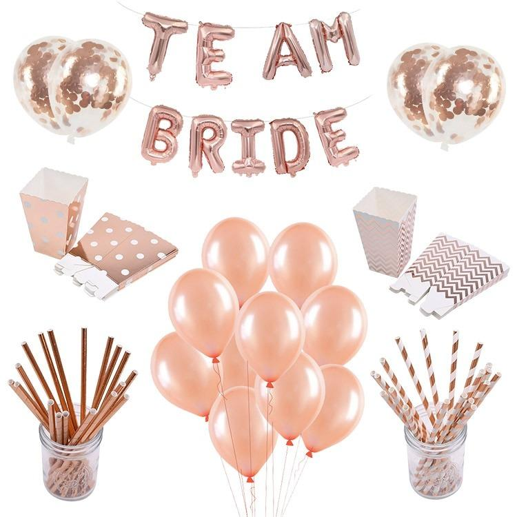Mabelalle balloon- confetti rose gold  (Limited Stocks)
