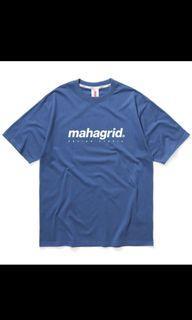 Mahagrid藍色上衣