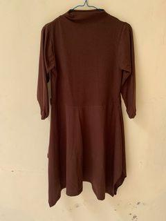 Midi Dress / Long Sleeves Blouse / Atasan Hijab Lengan Panjang