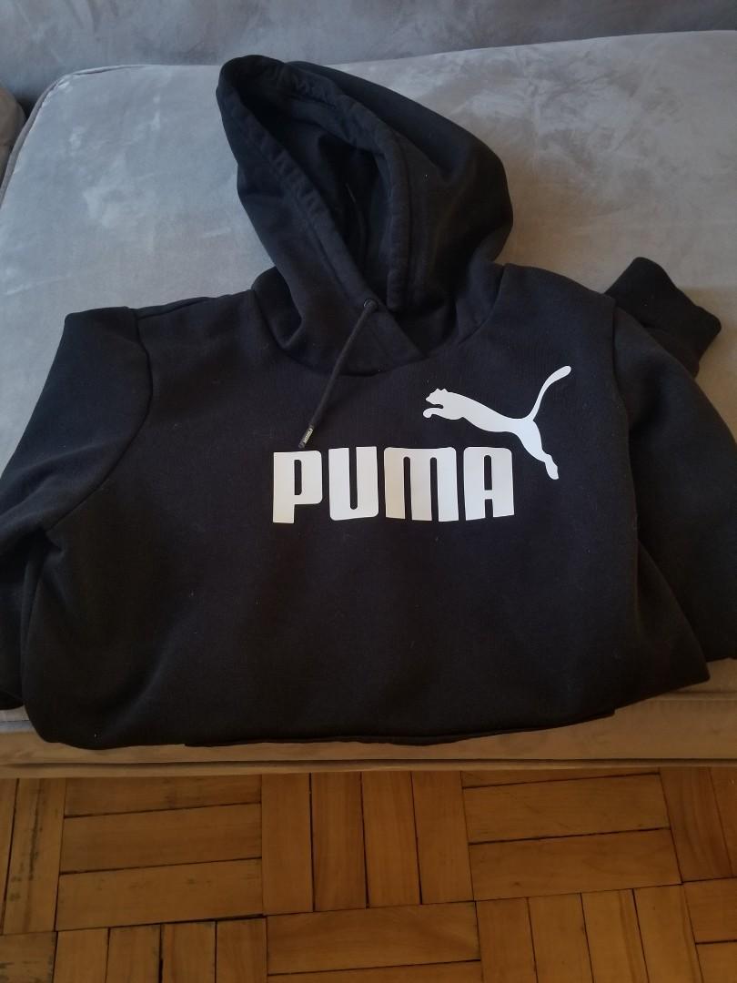 NEW) Girl's size Sp puma logo hoodie