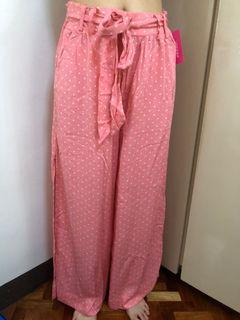 Pink Polka Dots Pants