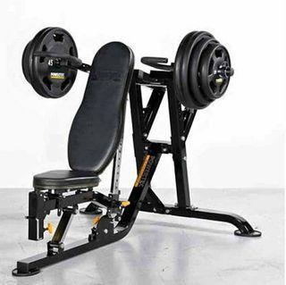Powertec multi press gym equipment
