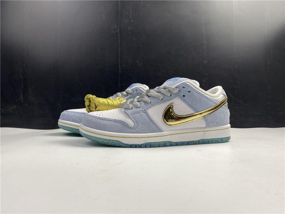 Sean Cliver x Nk SB Dunk Low , Sport Shoes In Leather  . Aj 1 3 4 5 7 11 13 14