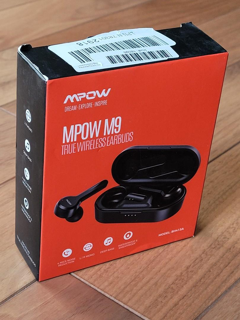 Wireless Bluetooth earbuds/earphones with mic and touch control (MPOW M9)