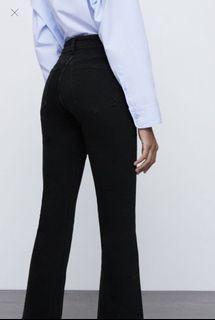 Zara straight leg jean
