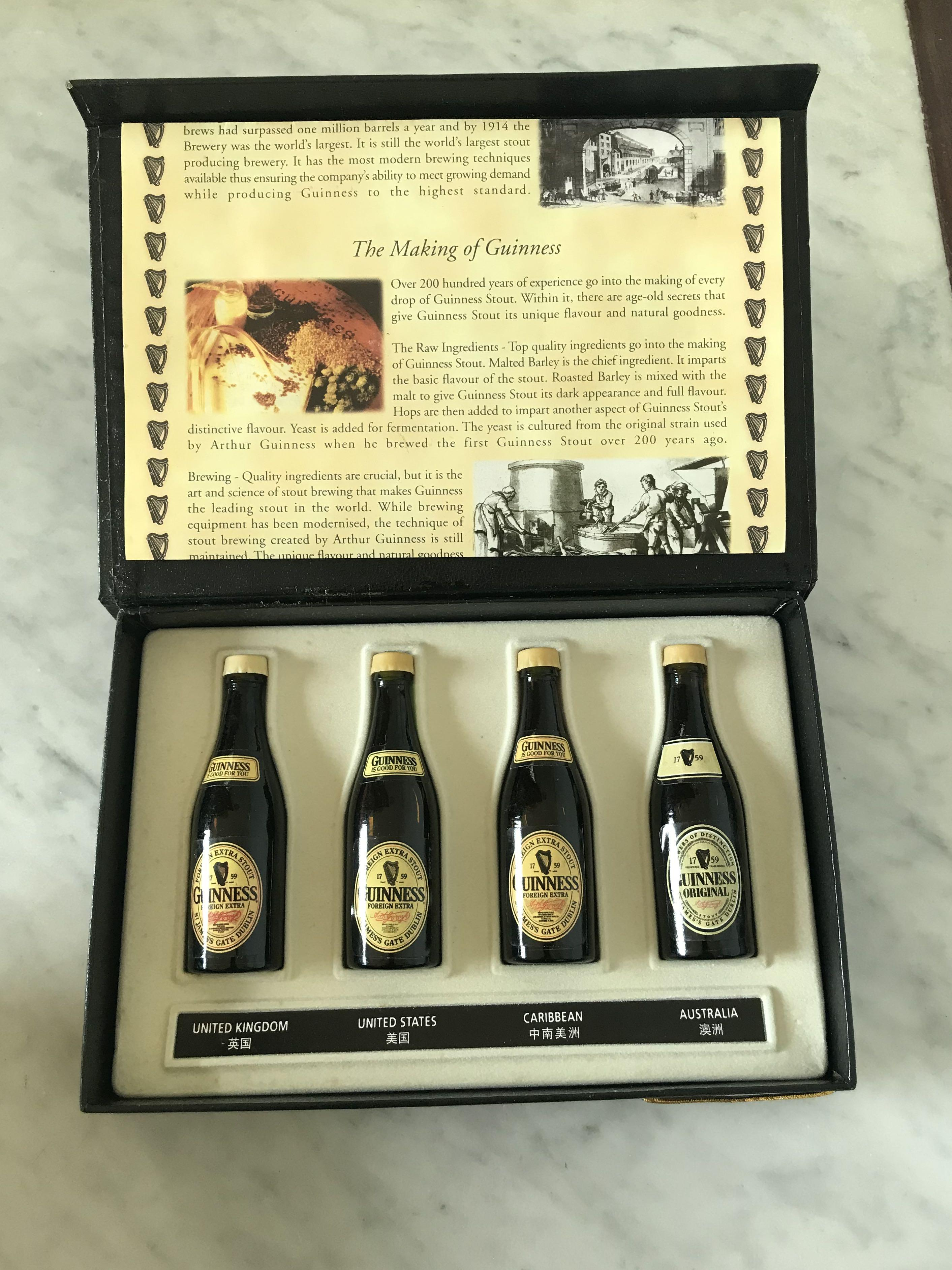 1759 GUINNESS COLLECTIBLES Miniatures Bottles