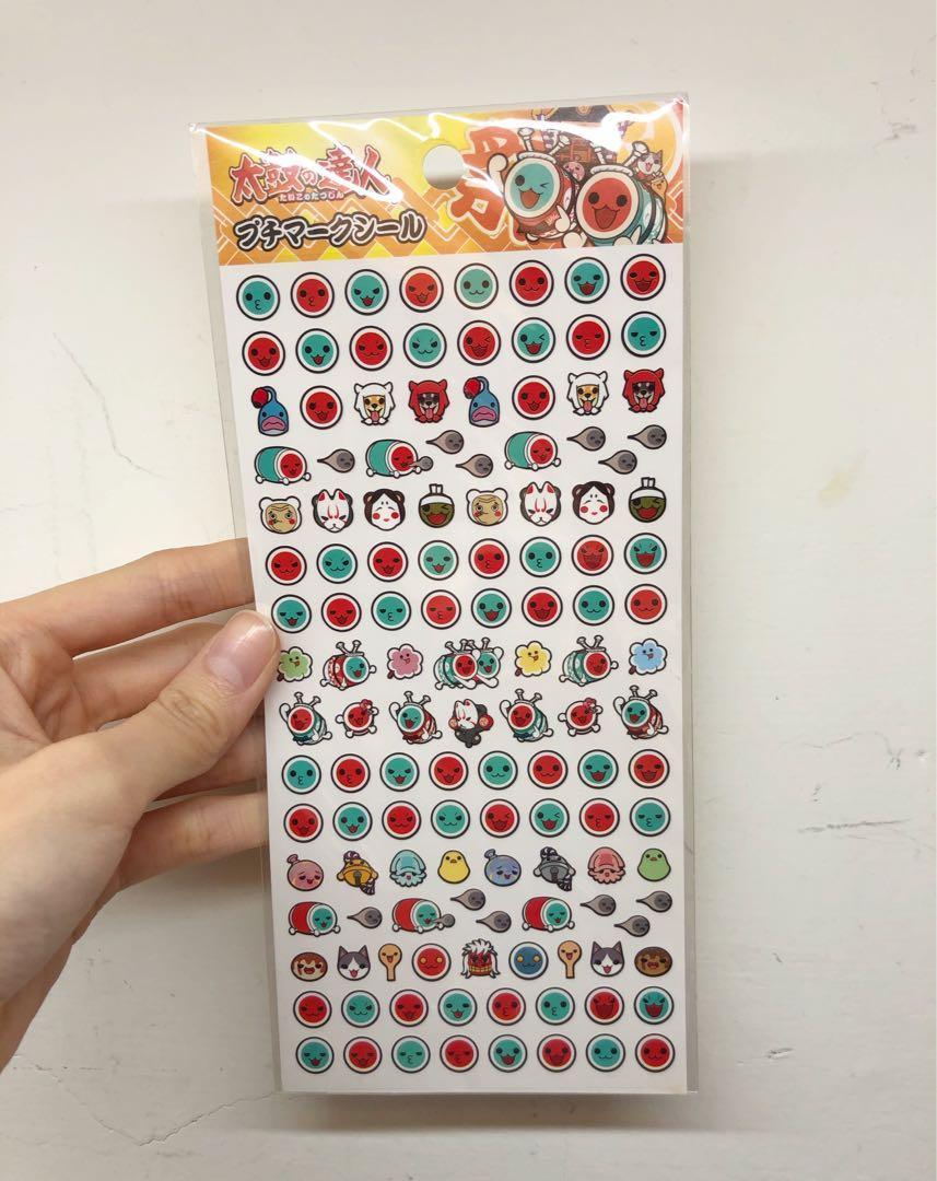 太鼓達人表情貼紙正版日本製