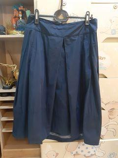 設計款有口袋修身長裙
