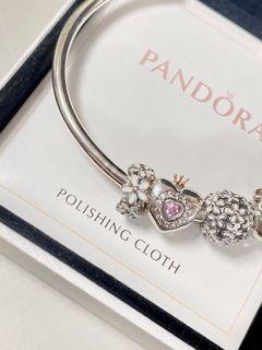 全新正品 Pandora 潘朵拉 串飾 雛菊花環 s925 純銀