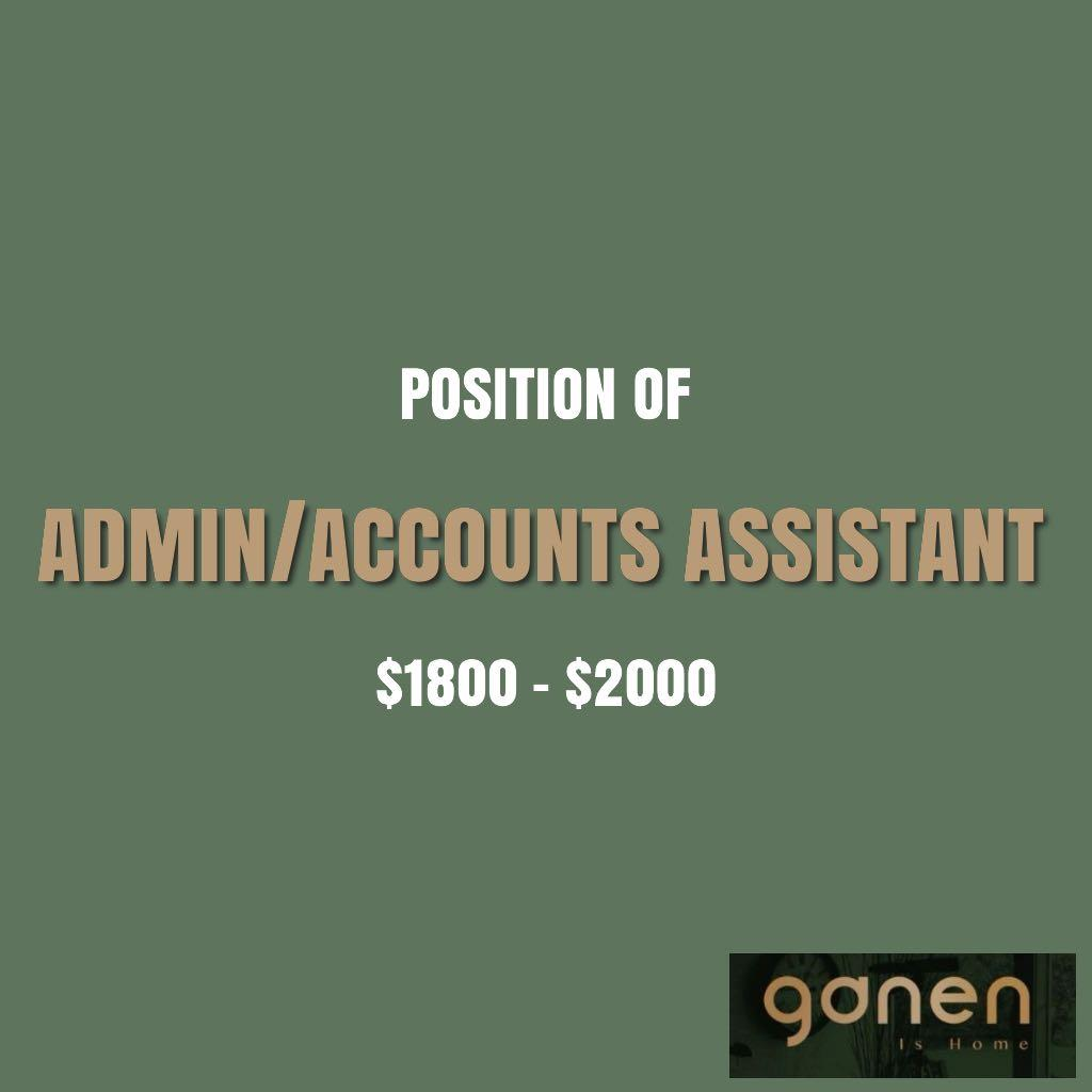 Admin/Accounts Assistant
