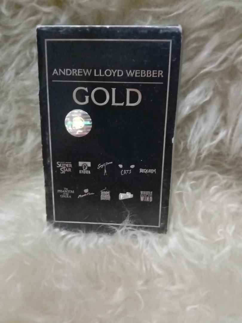 Andrew lloyd webber/  gold