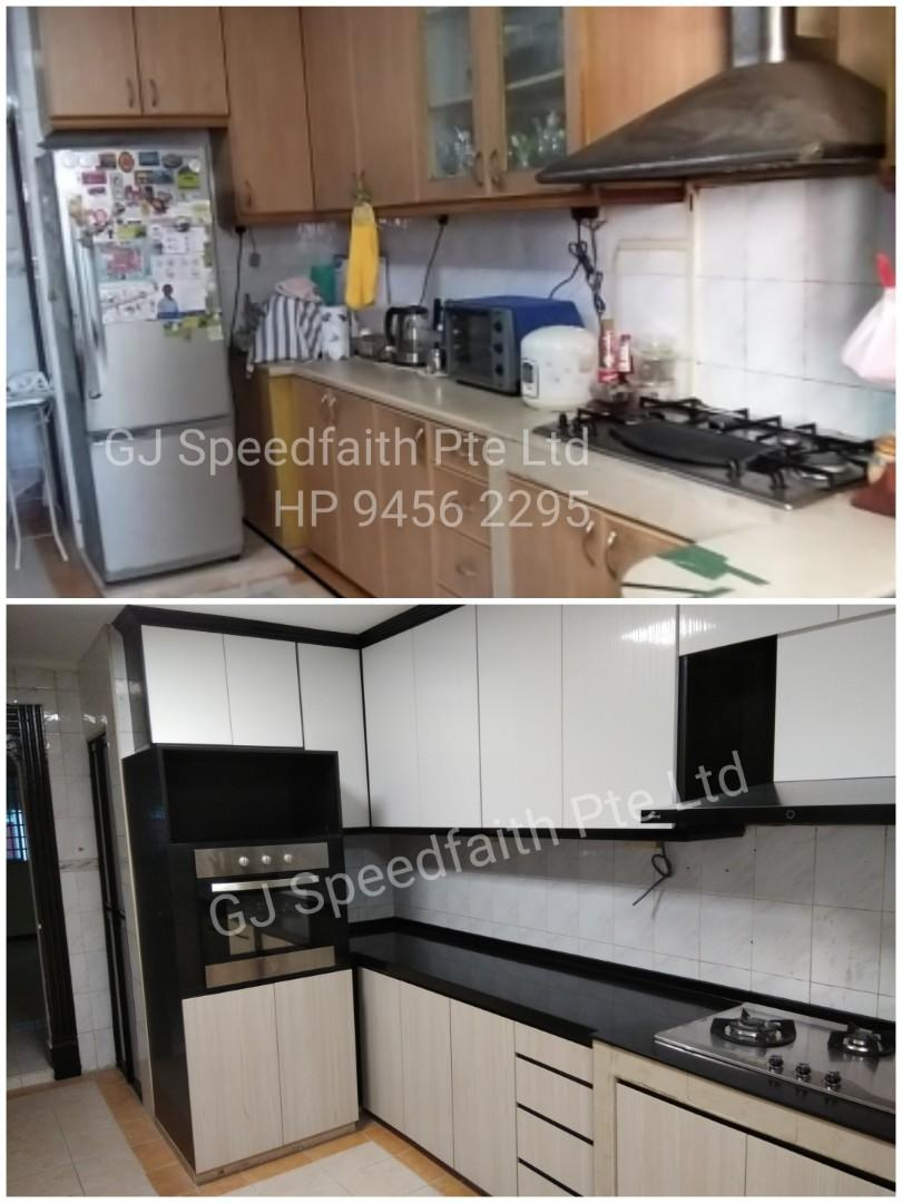 Cabinet Replacement / Table top Replacement, Home Services ...