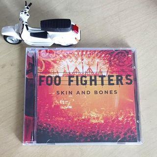 CD Live Foo Fighters – Skin And Bones