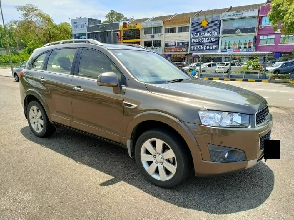 CHEVROLET CAPTIVA LT 2.4AT 2012TH