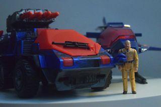 COBRA Basilisk Custom Paint + VENOM's Revenge 50th Anniversary Desert Duel NOT* M.A.S.K G.I. Joe