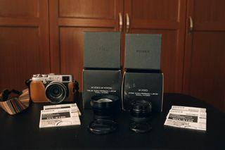 Fujifilm WCL-X100 I (Wide Conversion Lens) and TCL-X100 I (Tele Conversion Lens)