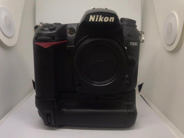 Fullset Kamera DSLR NIKON D7000 + Lensa Tamron 17-50mm f2.8