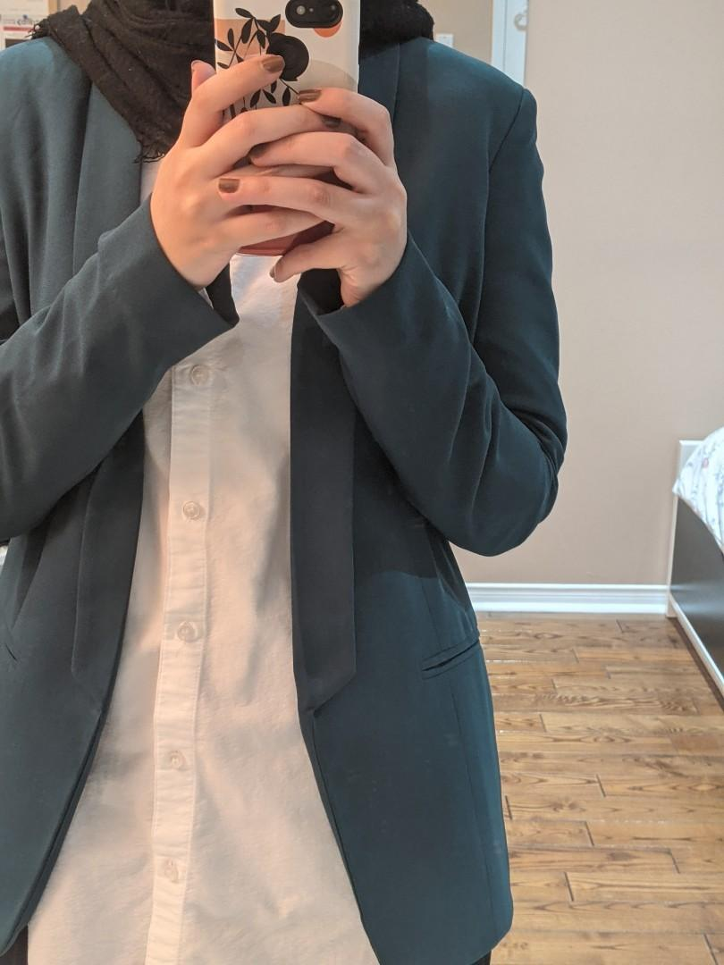Green blazer size small
