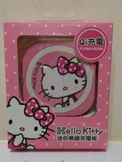 可議 Hello kitty   Qi無線充電板 充電器