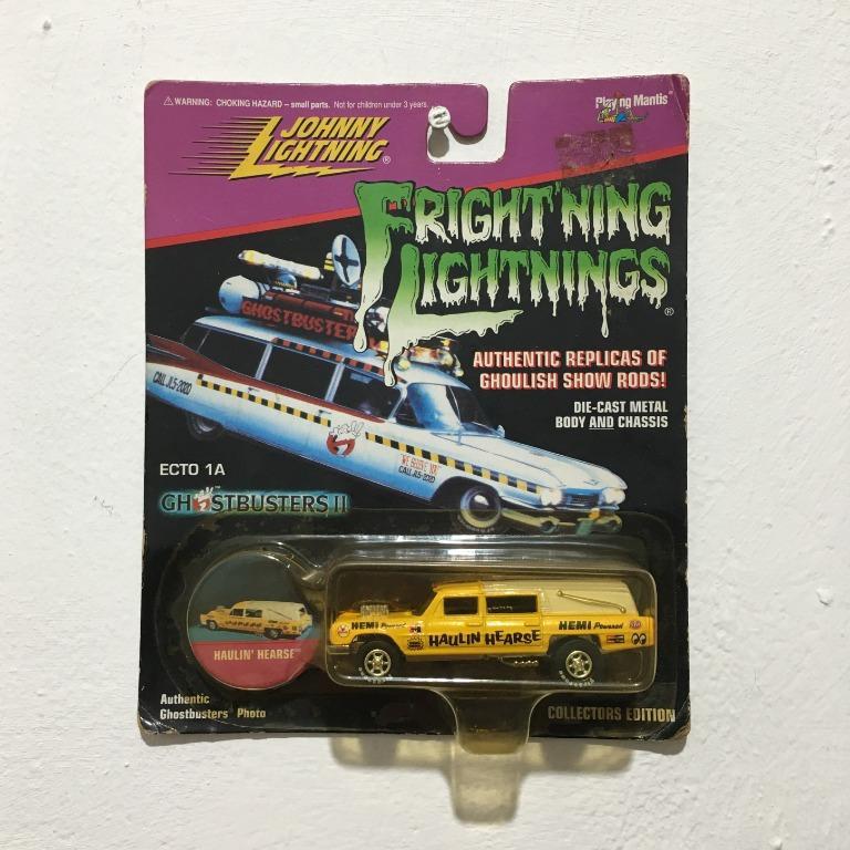 Johnny Lightning Fright'ning Lightning Haulin' Hearse Die-cast
