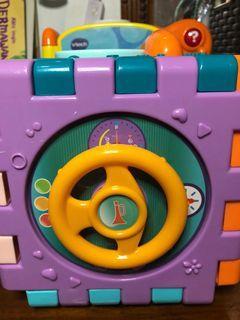Mainan box 4 in 1 edukasi