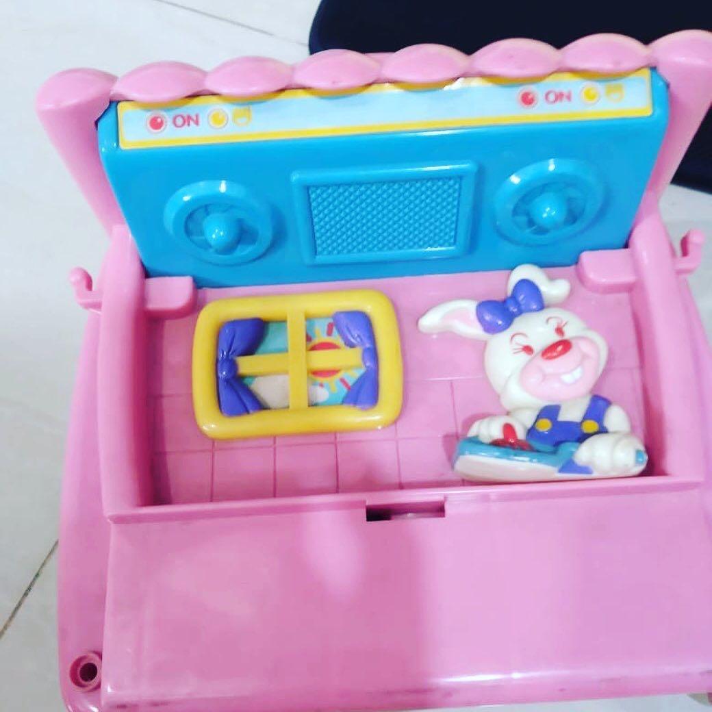 Mainan kompor anak 2 in 1