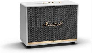 Marshall Woburn II Bluetooth 藍牙喇叭 - 乳白色、經典黑