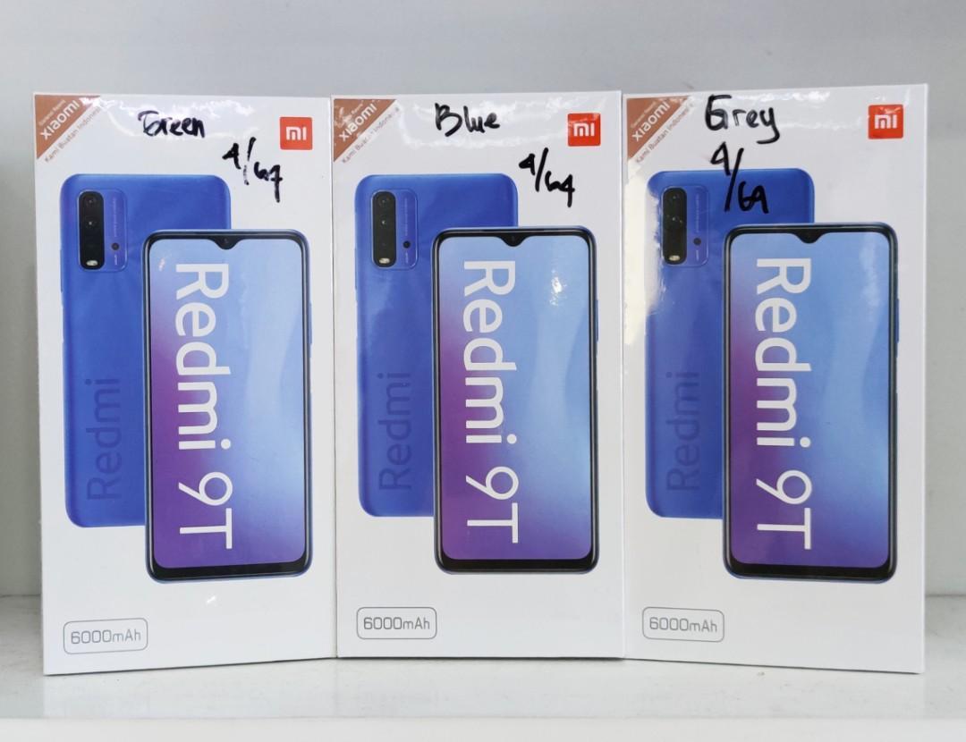 Redmi 9 T RAM 4 ROM 64