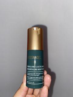 squalane lactic acid night serum