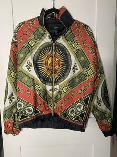 Trendy print jacket Size M