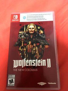 Wolfenstein 2 / Wolfenstein II - Nintendo Switch Game -