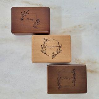 Wooden Jewellery Box | Customised Gift
