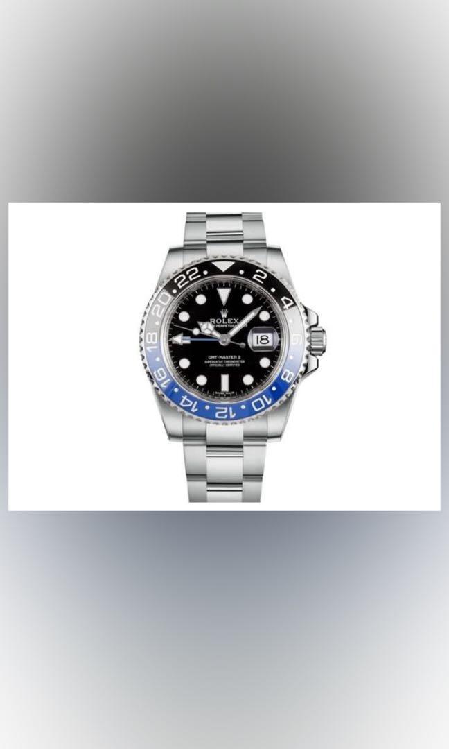 WTB Rolex Batman 116710BLNR