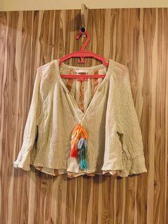 Zara knitted top 夏季針織上衣  8成新 #收假