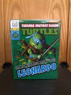 全新 86Hero Herocross 超合金 HMF#037 忍者龜 Leonardo 李奧納多