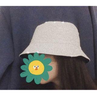 米色 黑色 雙色漁夫帽
