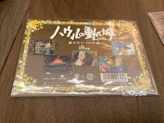 宮崎駿 哈爾移動城堡 官方 吉卜力 明信片一套五張