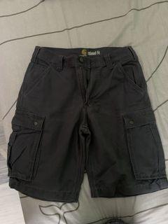 正品 Carhartt Rugged Cargo Shorts 水洗 多口袋 六袋 工作褲 短褲 工裝 wip relaxed fit