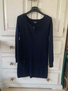 APC Cashmere dress size xs