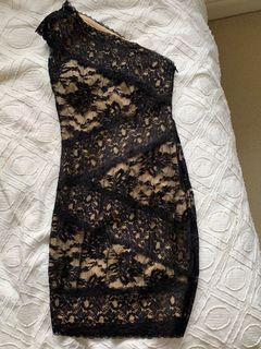 Ark&Co lace one shoulder dress size xs