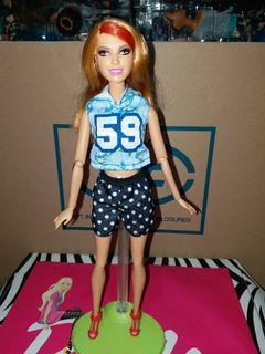Barbie pivotal doll preloved