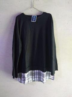 blouse korean oversize